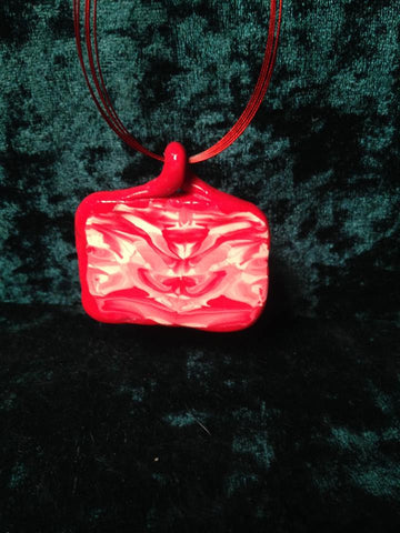 #132  Red Totem Pendant