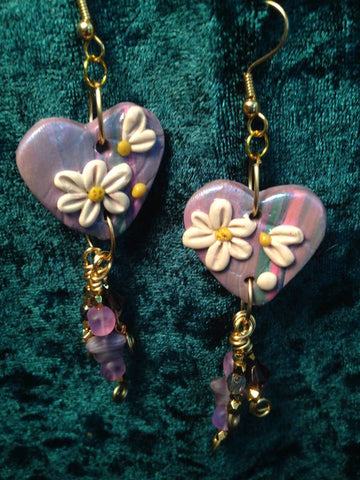 #153  Heart earrings that match #152