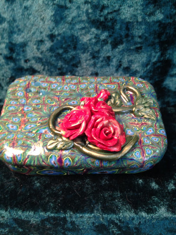 # 162 Rose Trinket Box