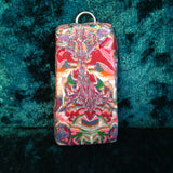 # 186 4 Sided Totem Pendant in Red