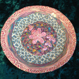 # 193  Blue and Pink Small Plate