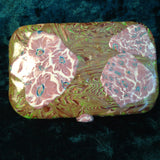 # 195  Green Mokume Game Trinket Box