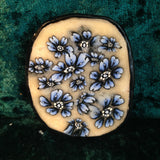 # 199  Blue Flower Pendant