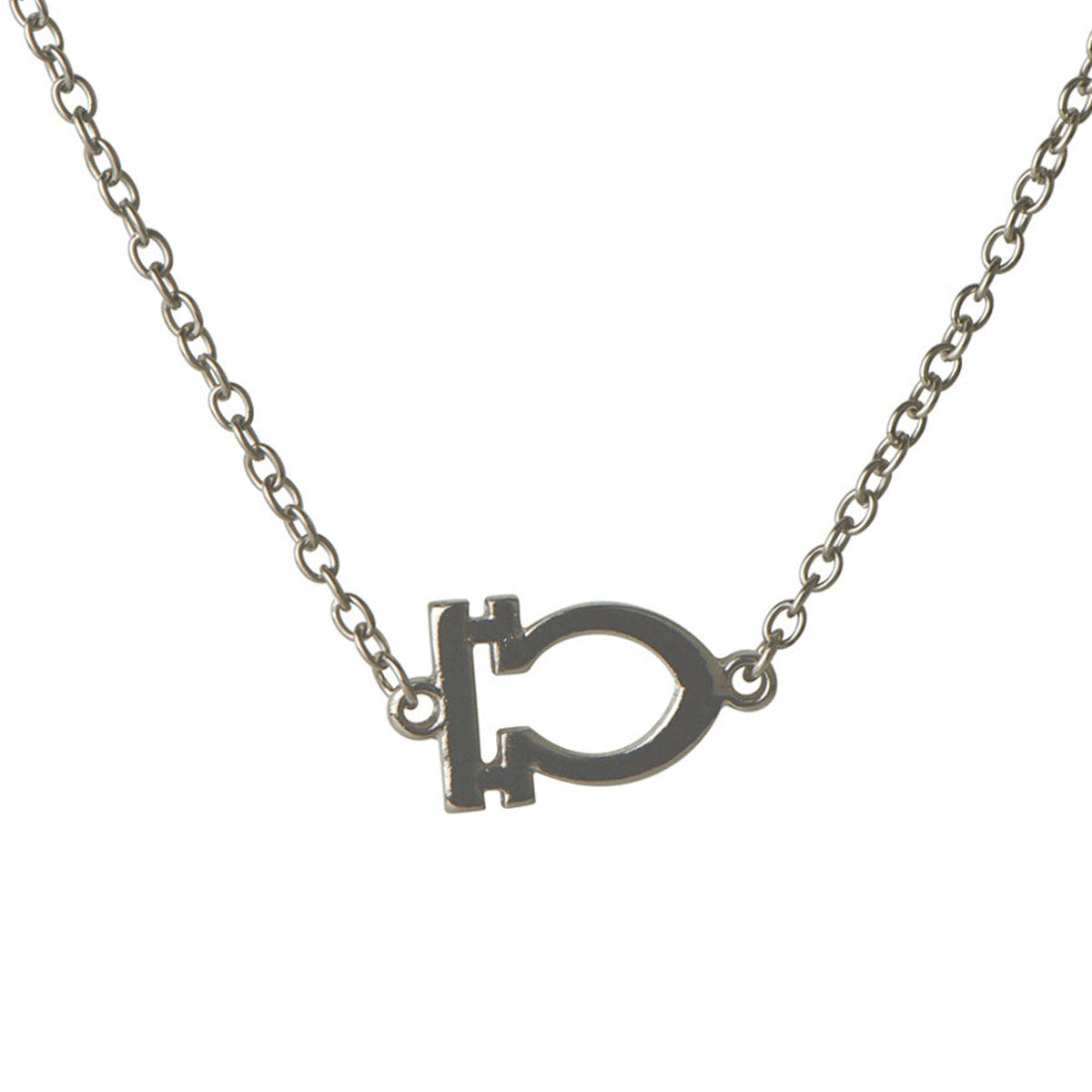 Moon Child Zodiac Libra Necklace - Silver