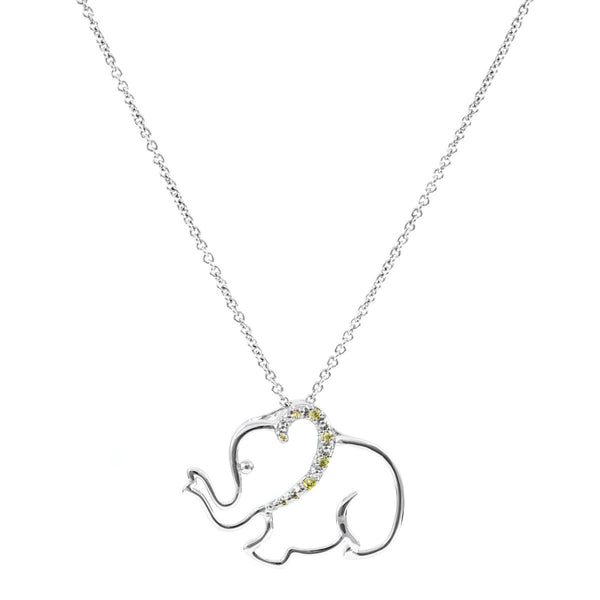 Elephant Balance Necklace