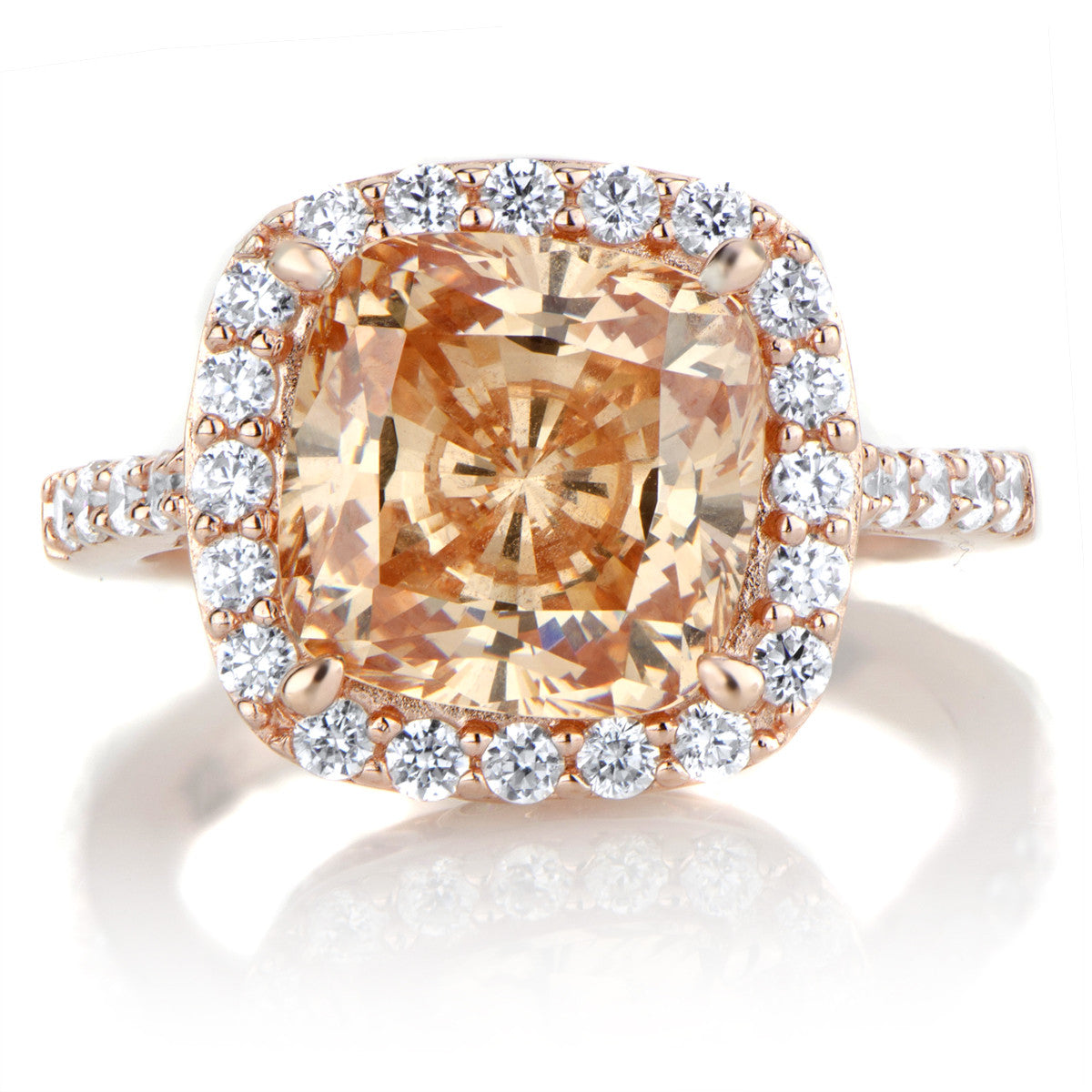 Rosewater Engagement Ring