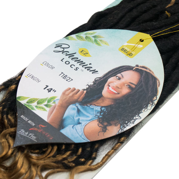 BOHEMIAN LOCS T1B / 27 NATURAL BLACK & HONEY BLOND