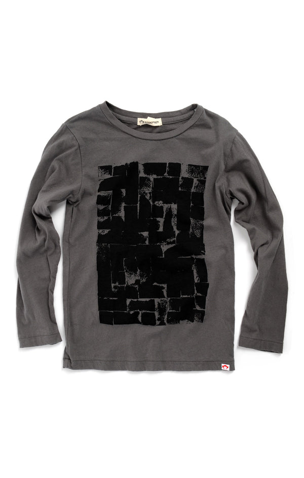 Appaman Fine Line Long Sleeve Tee - Bricks