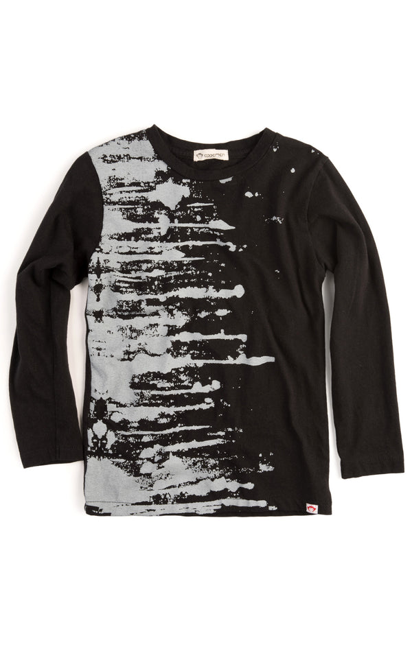 Appaman Fine Line Long Sleeve Graphic Tee - Paint Splatter