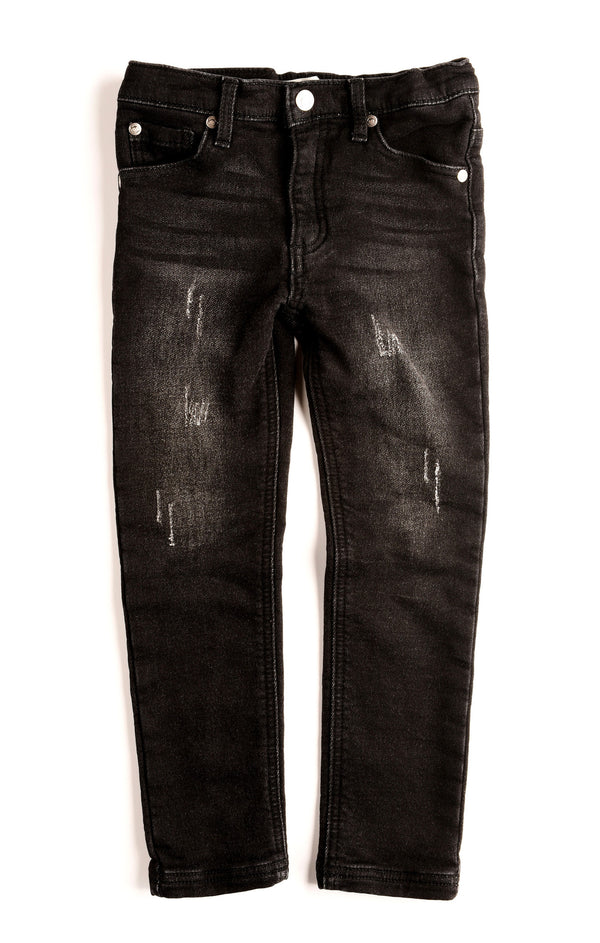 Appaman Black Wash Denim Knit Jegging