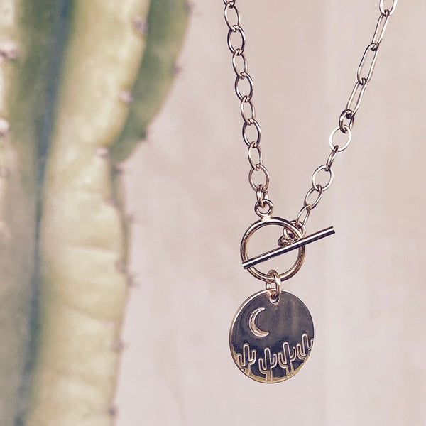 Desert Night Necklace