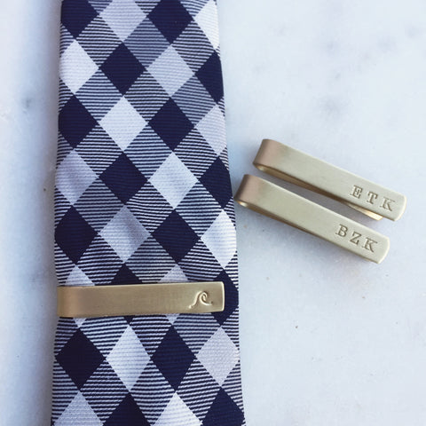Men's Custom Tie Bars