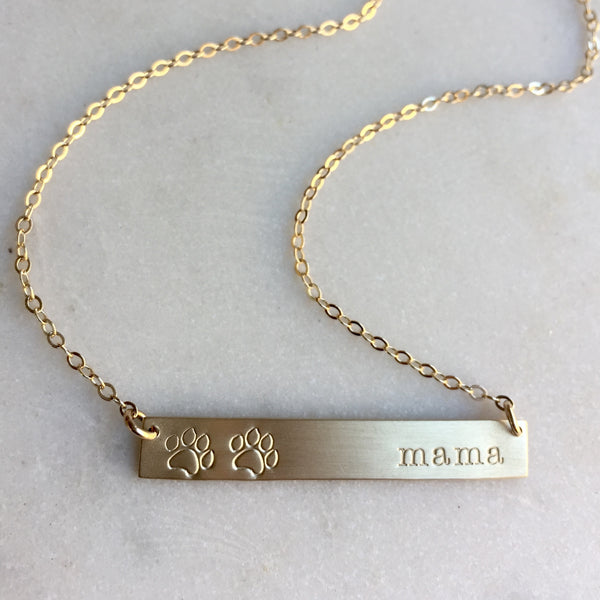 Paw Mama Necklace