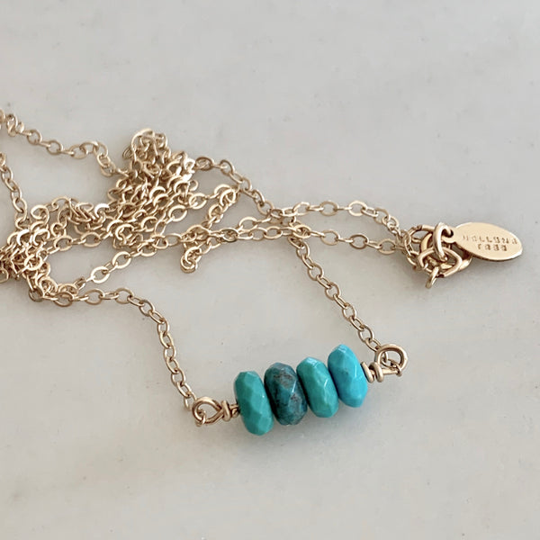 "Turquoise ""Endless Summer"" Necklace"
