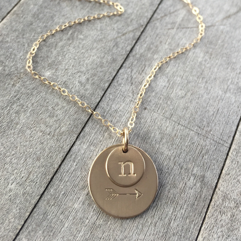 ar necklace fotor jewelry products company todaycharm stamped gold img karma hand