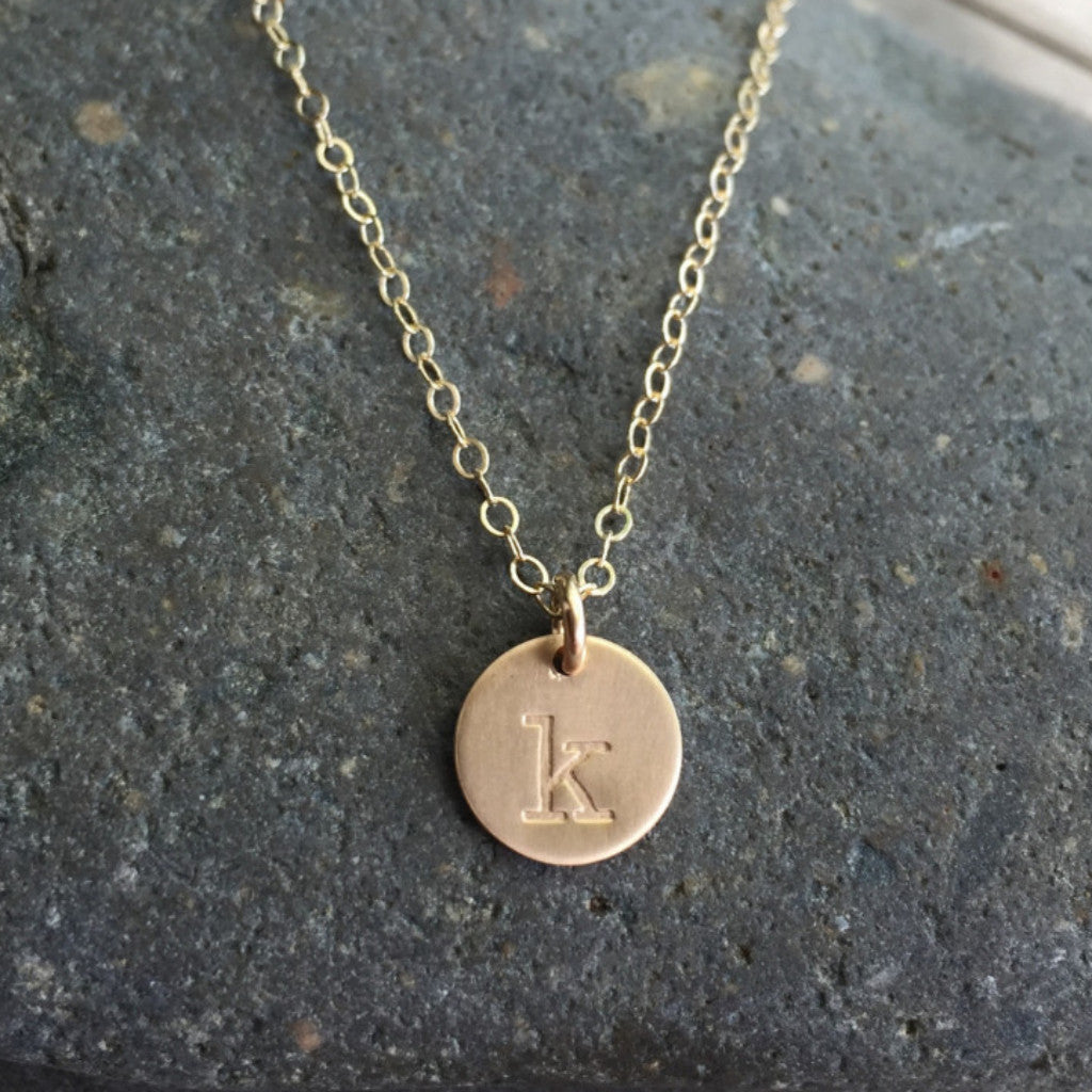 Small gold disc necklace nellene tree small gold disc necklace small gold disc necklace aloadofball Images