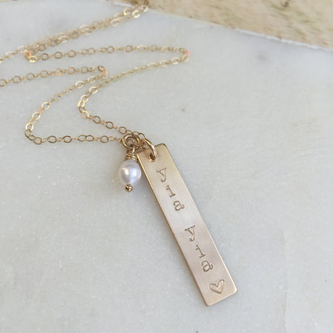 Personalized Grandma Name Necklace