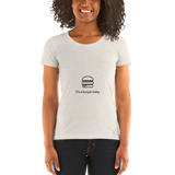 it's a...Burger Baby ladies t-shirt