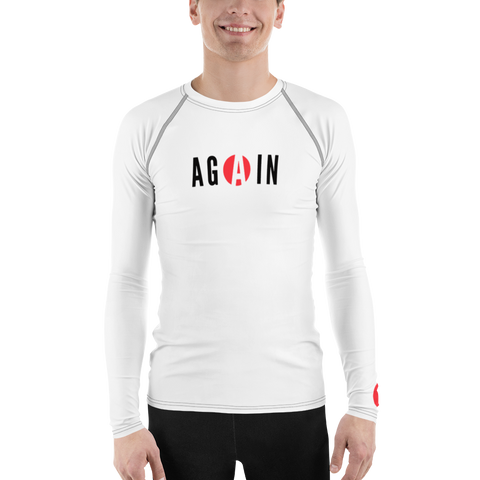 Men's AGAIN - Jiu Jitsu Rash Guard 1