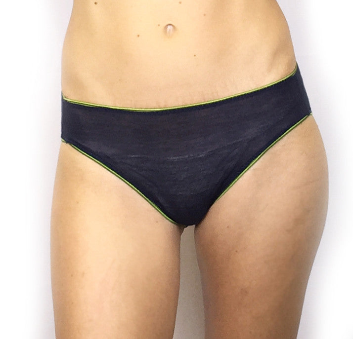 Larkspur - Ashley Silk Blend Panty - Navy
