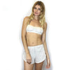 Imogene - Organic Cotton Bra and Tap Pants Set - Toffee