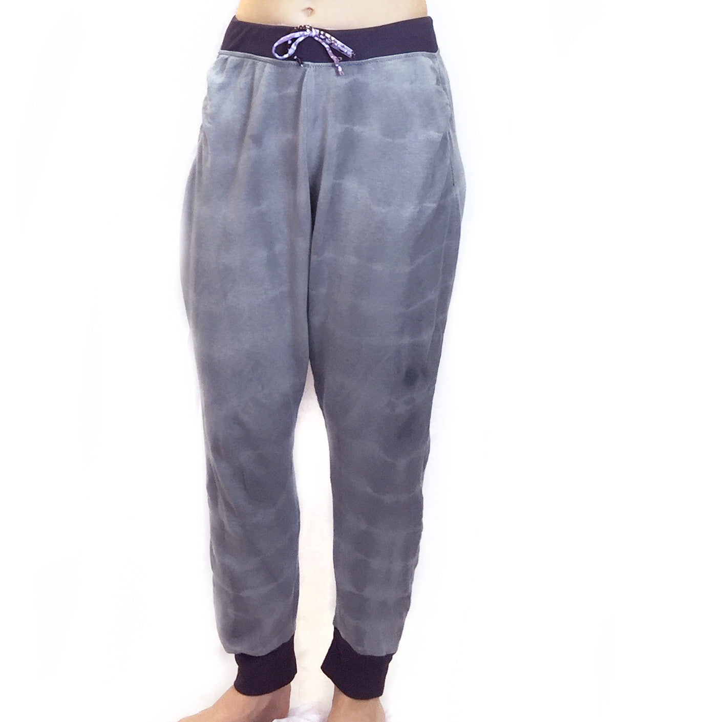 India - Sweatpants - Charcoal Tie-dye