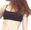 Viviane - Organic Cotton Bra - Grey/Black