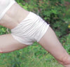 Rosa - Organic Cotton Yoga Shorts - Ivory