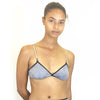 Larkspur - Hazel - Organic Cotton Bra - Black