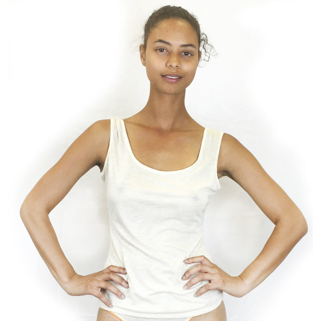 Larkspur - Ashley Reversible Camisole- Ivory
