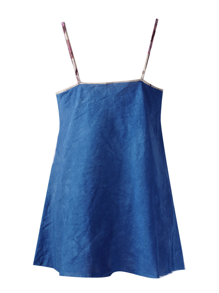 Larkspur - Marni Organic Cotton Nightgown - Indigo