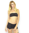 Larkspur - Hazel - Organic Cotton Bra and Panties Set - Tobacco/Navy