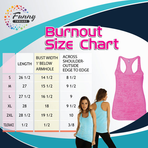 Funny Threadz Clothing Burnout Size Chart