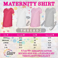Womens Maternity TShirts - There's a little turkey in this oven - Pregnancy Tee - 2233 Funny Shirt