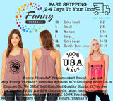 Time To Get Star Spangled Hammered - Bella Canvas Womens Tank Top - Gathered Back & Super Soft Funny Shirt