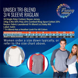 18 And The Party Is On - Raglan Baseball Tshirt- Unisex Sizing 3/4 Sleeve Funny Shirt
