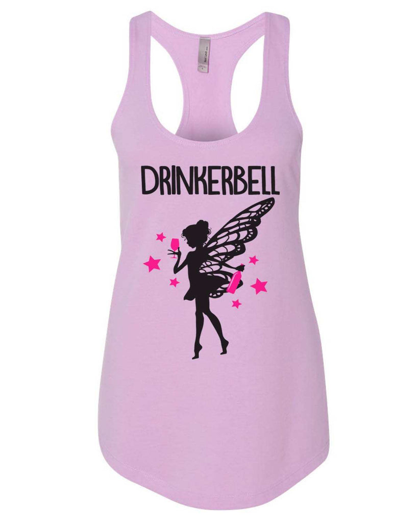 Drinkerbell Womens Workout Tank Top Funny Shirt Small / Lilac