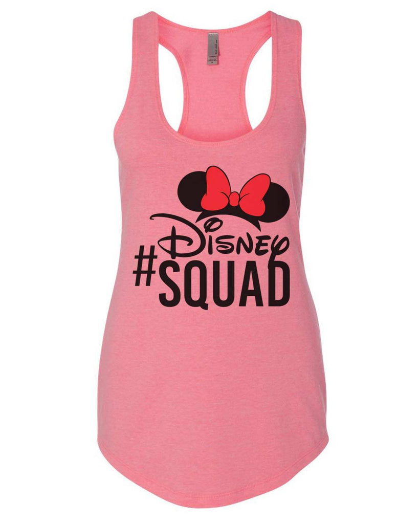 Disney Squad Womens Workout Tank Top Funny Shirt Small / Heather Pink
