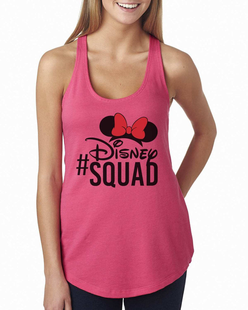 Disney Squad Womens Workout Tank Top Funny Shirt