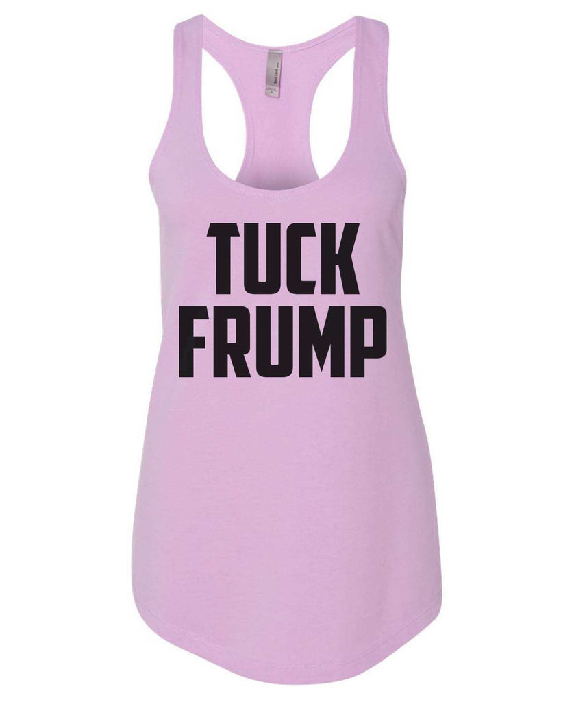 Tuck Frump Womens Workout Tank Top Funny Shirt Small / Lilac