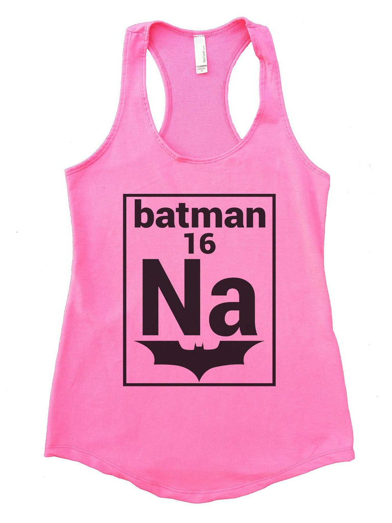 Na 16 Batman Womens Workout Tank Top Funny Shirt Small / Heather Pink