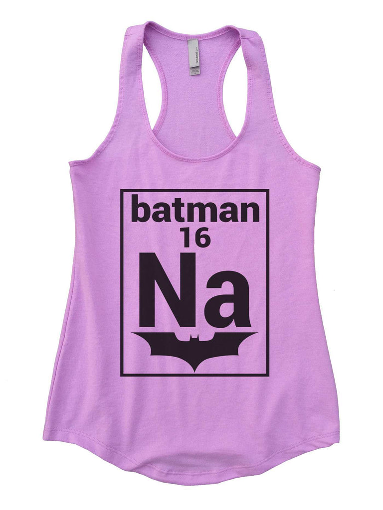 Na 16 Batman Womens Workout Tank Top Funny Shirt Small / Lilac