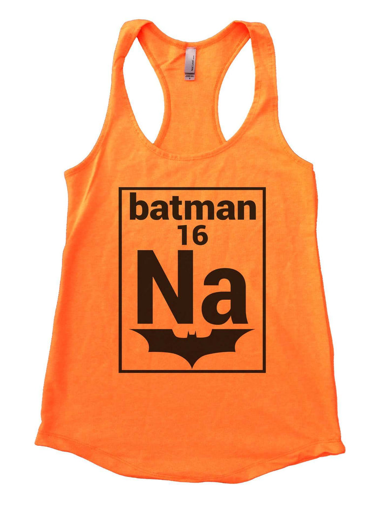 Na 16 Batman Womens Workout Tank Top Funny Shirt Small / Neon Orange