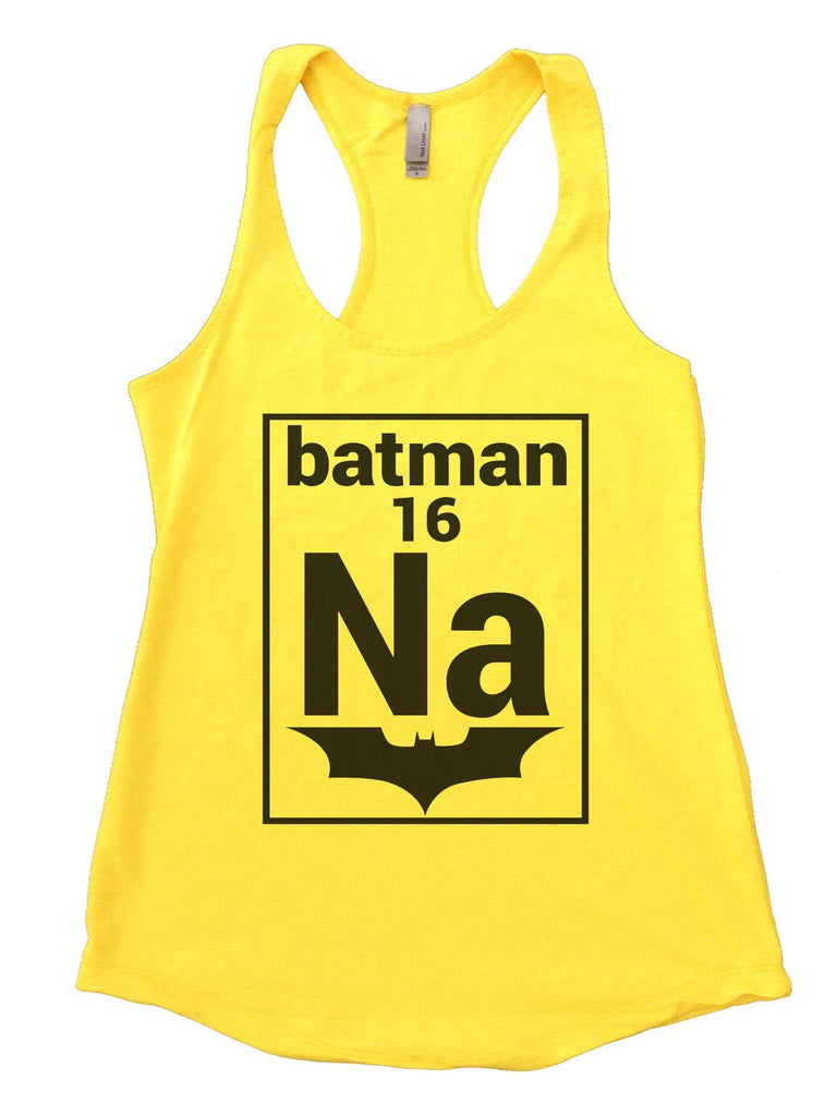 Na 16 Batman Womens Workout Tank Top Funny Shirt Small / Neon Yellow