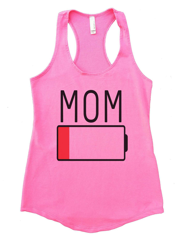 Mom Womens Workout Tank Top Funny Shirt Small / Heather Pink