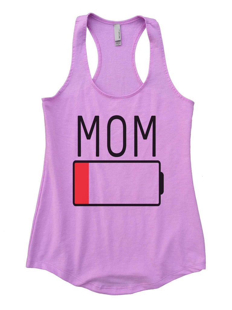Mom Womens Workout Tank Top Funny Shirt Small / Lilac