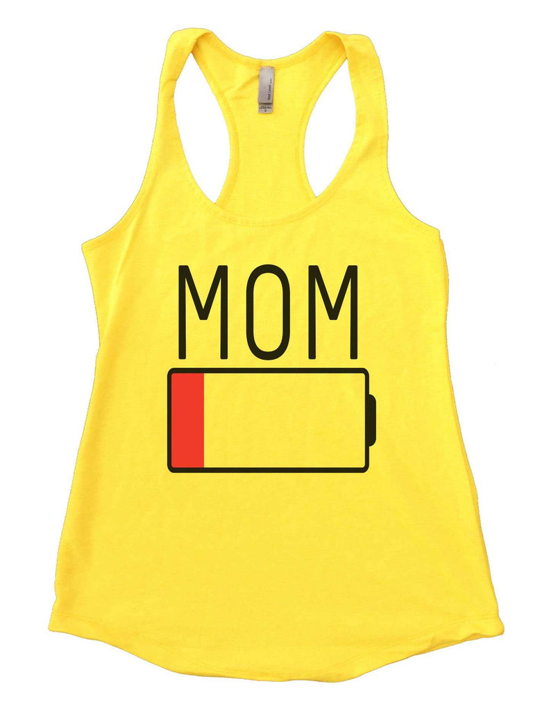 Mom Womens Workout Tank Top Funny Shirt Small / Yellow