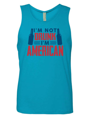 This This Girl Loves 'Merica Mens Tank Top By Funny Threadz