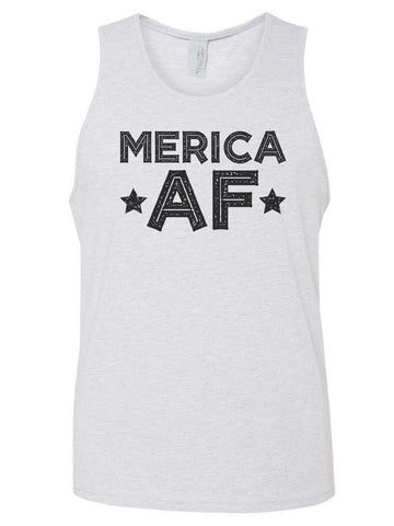 Merica Est. 1776 Mens Tank Top By Funny Threadz