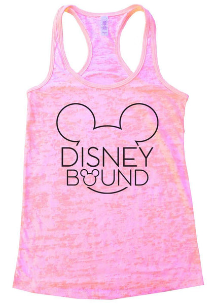 Disney Bound Burnout Tank Top By Funny Threadz Funny Shirt Small / Light Pink